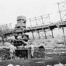 Американская РЛС времен Второй мировой SCR-268