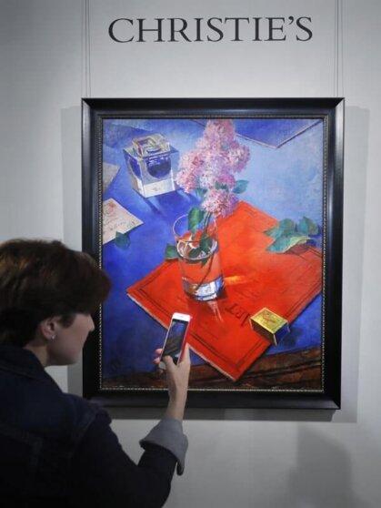 Картину Петрова-Водкина продали за рекордную сумму в Лондоне