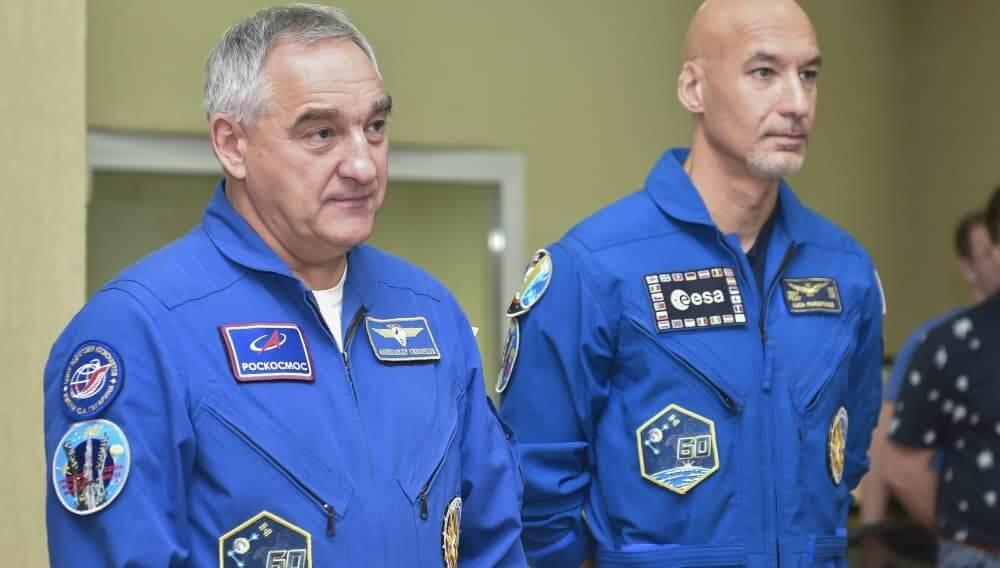 Александр Скворцов и Лука Пармитано