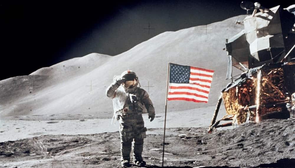 Командир космического корабля Аполлон-15 Apollo 15 Дэвид Скотт - David Scott лунная программа Луна