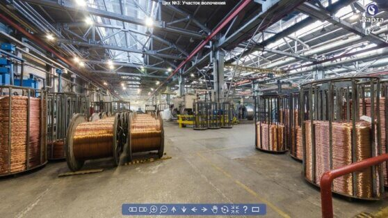 Заводы Кабельного Альянса запустили 3D-экскурсии по своим цехам