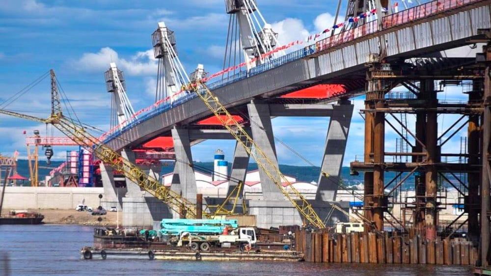 Мост Благовещенск (РФ) -Хэйхэ (КНР)