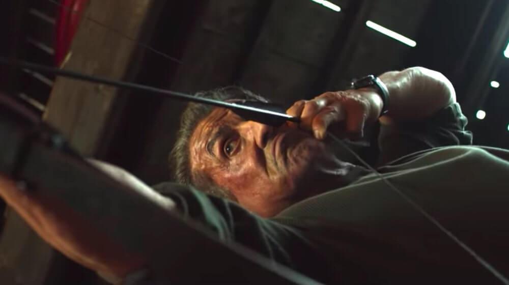 """Кадр из трейлера """"Рэмбо: Последняя кровь"""""""