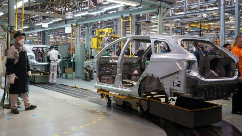 Завод АвтоВАЗ в Тольятти Сборка автомобилей Lada конвейер