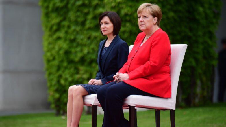 Ангела Меркель и Майя Санду