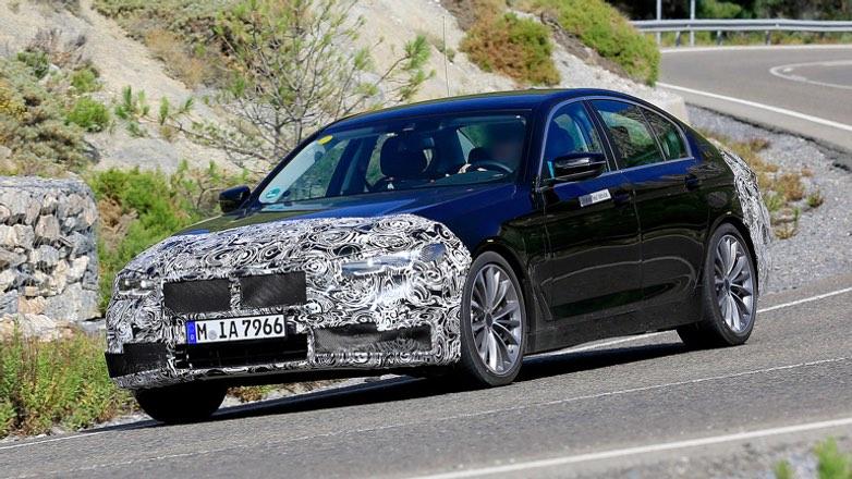 Появились первые изображения BMW 5-Series
