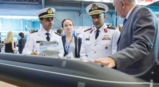 В Санкт-Петербурге открывается Международный военно-морской салон