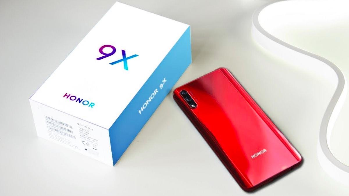 В России стартовали продажи смартфонов Honor 9X в двух вариациях