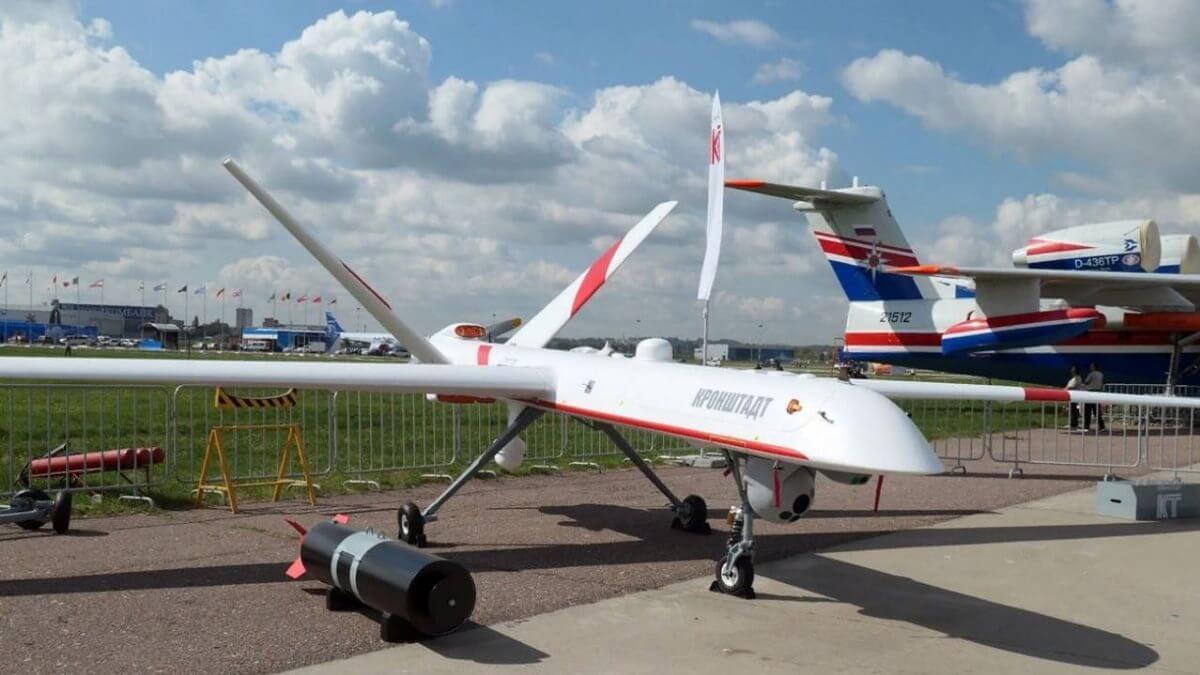 В Рязанской области потерпел крушение военный беспилотник «Орион»
