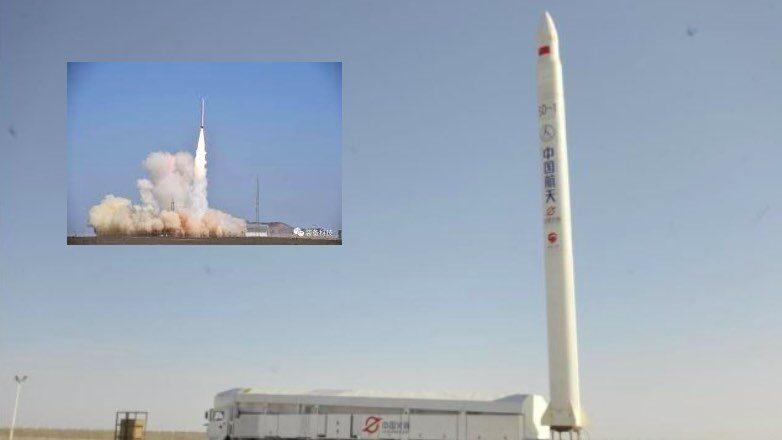 Запуск ракеты Jielong-1