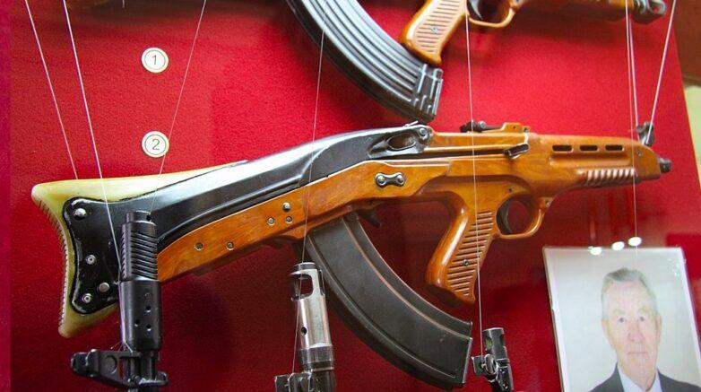 Автомат ТКБ-011 обр. 1963 г. в Тульском Государственном Музее Оружия