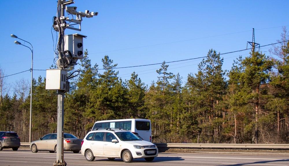 В Подмосковье заметно снизилось количество ДТП в местах с дорожными камерами