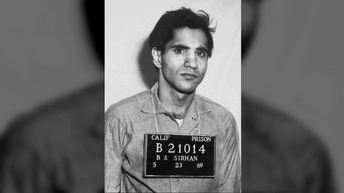 Убийца Роберта Ф. Кеннеди палестинец Серхан Серхан