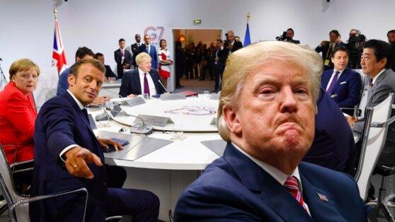 В МИД Франции прокомментировали идею Трампа о возвращении России в G7