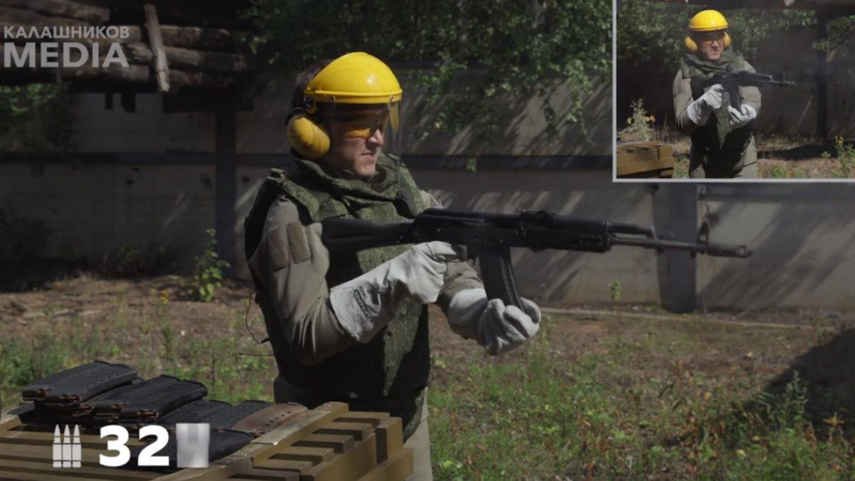 АК-74М испытали на прочность безостановочной стрельбой