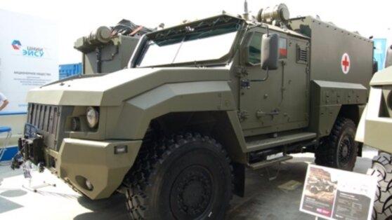 Российская армия получит новый санитарный бронеавтомобиль