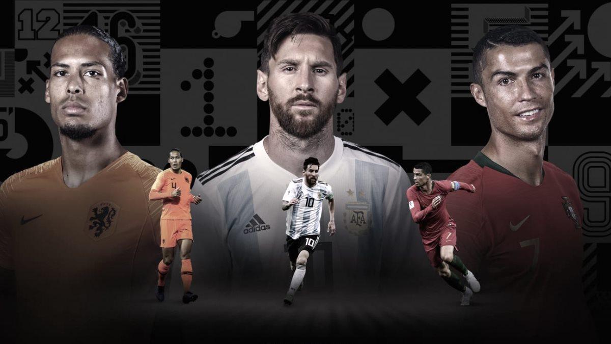 ФИФА назвал тройку кандидатов на звание лучшего футболиста мира
