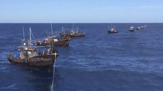В Приморье задержали за браконьерство 262 рыбака из Северной Кореи