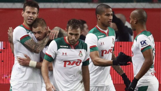 Футбольный клуб «Локомотив» покинут восемь игроков