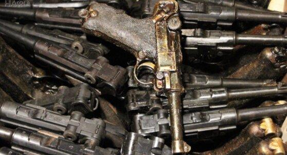 Главному храму ВС РФ передали более тонны трофейного оружия