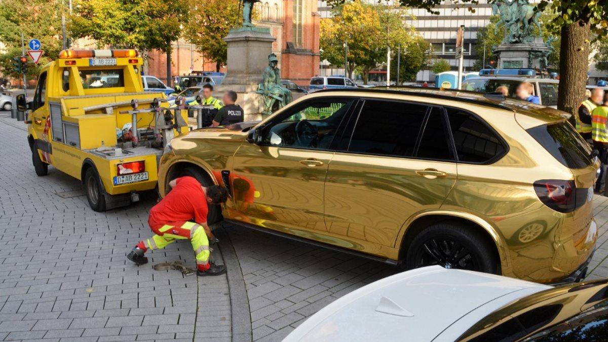 Немецкая полиция запретила эксплуатацию золотого авто