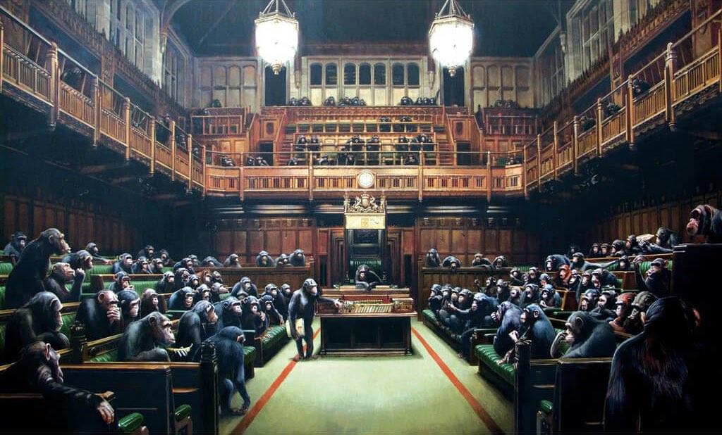 Бэнкси парламент