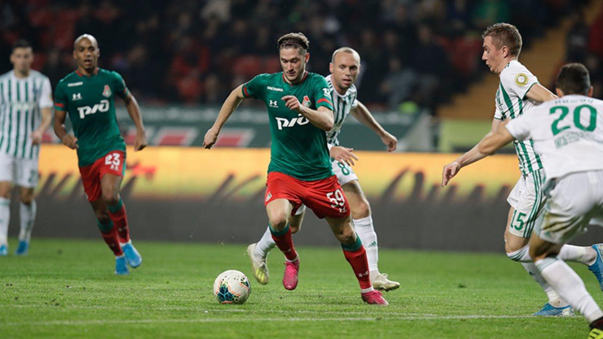 «Локомотив» сохранил лидерство в РПЛ после 13 тура