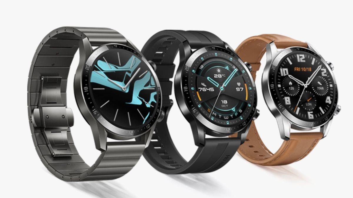 Huawei Watch GT 2 приехали в Россию