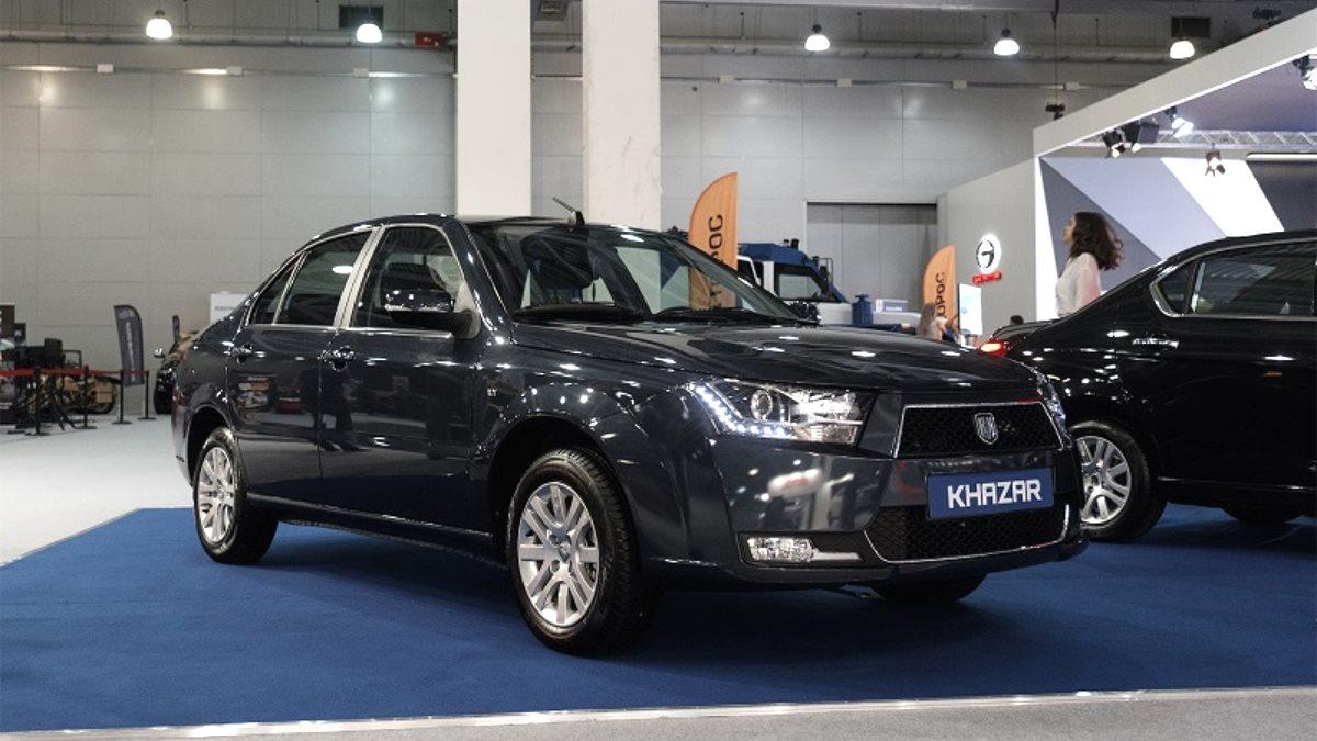 В Россию будут поставлять автомобили марки Khazar