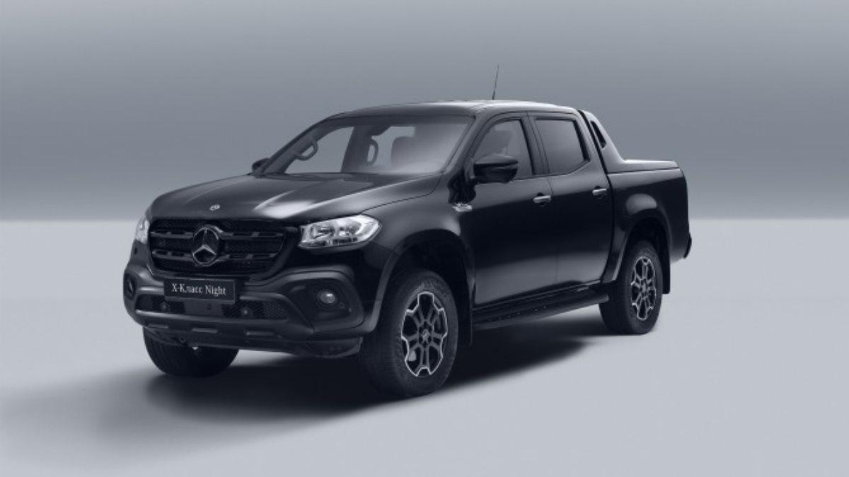 Mercedes-Benz Х-Класс получил спецверсию Night Edition в России