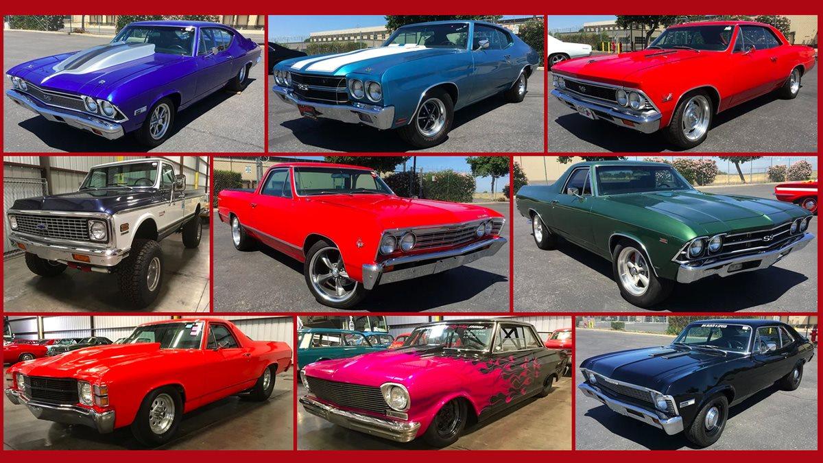 В США на аукцион выставили коллекцию из 149 редких машин