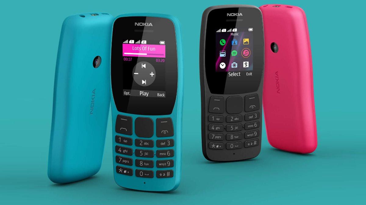 На российском рынке начались продажи кнопочного Nokia 110
