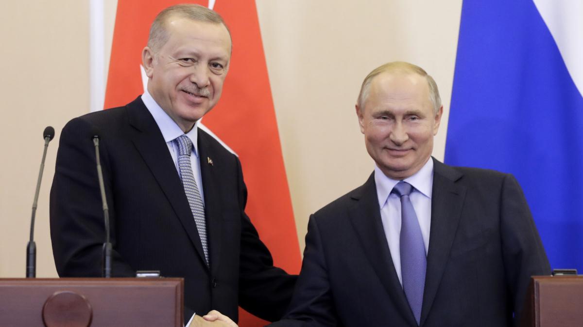 Путин назвал достигнутые с Эрдоганом договоренности судьбоносными