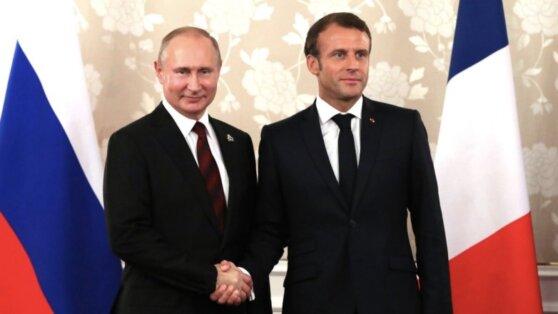 26 июня Путин обсудит с Макроном кризисы на Украине и в Ливии