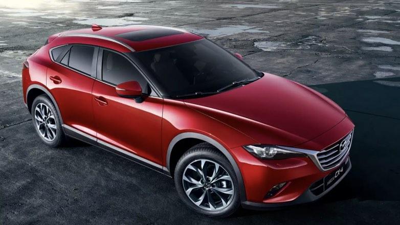 В продажу поступил новый купе-кроссовер Mazda CX-4