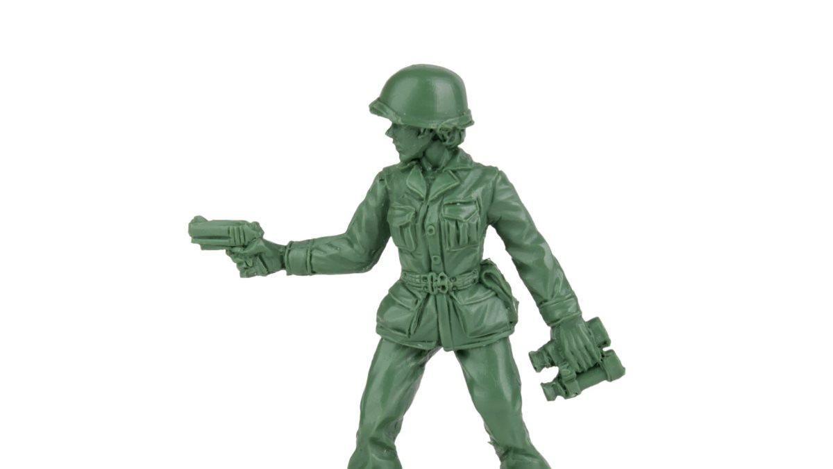 В Америке начнут производить игрушечных солдатиков женского пола