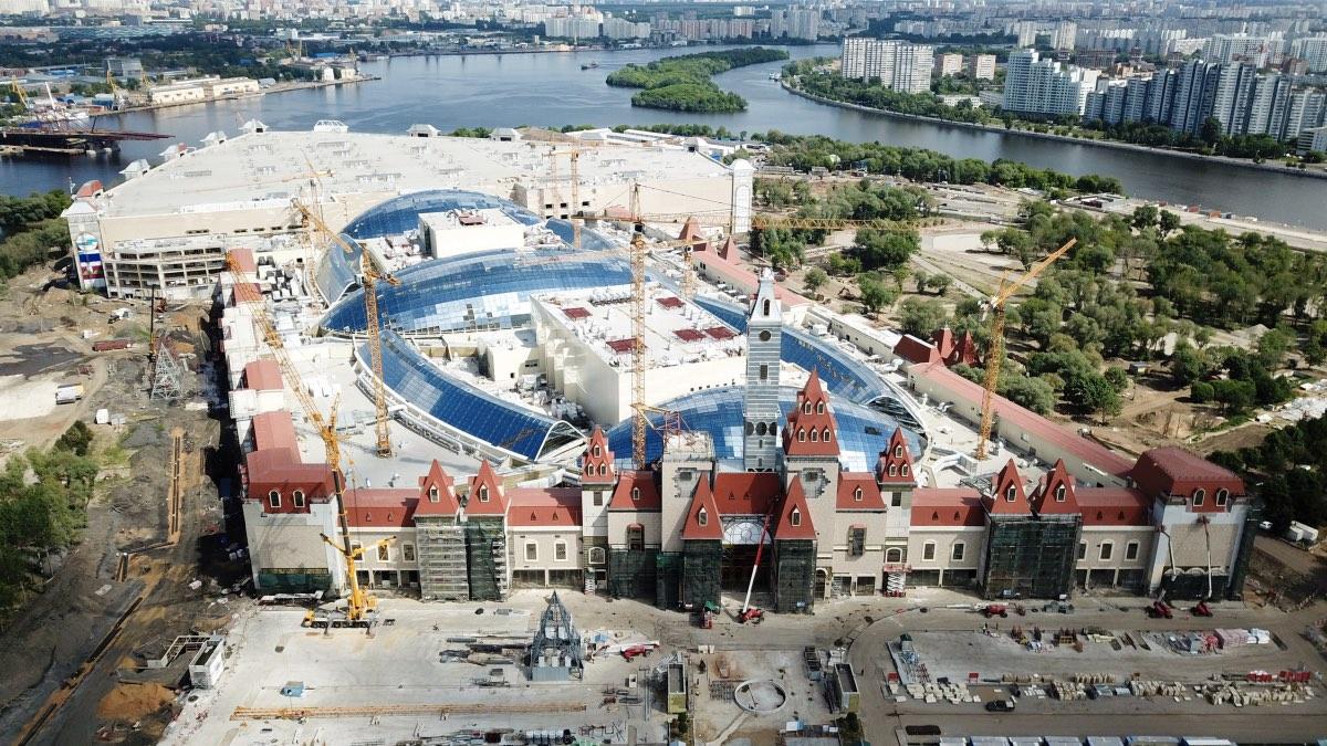 Парк развлечений «Остров мечты» в Москве планируют открыть в декабре