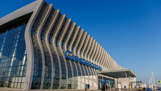В аэропорту Симферополь пассажиропоток снизился на 76%