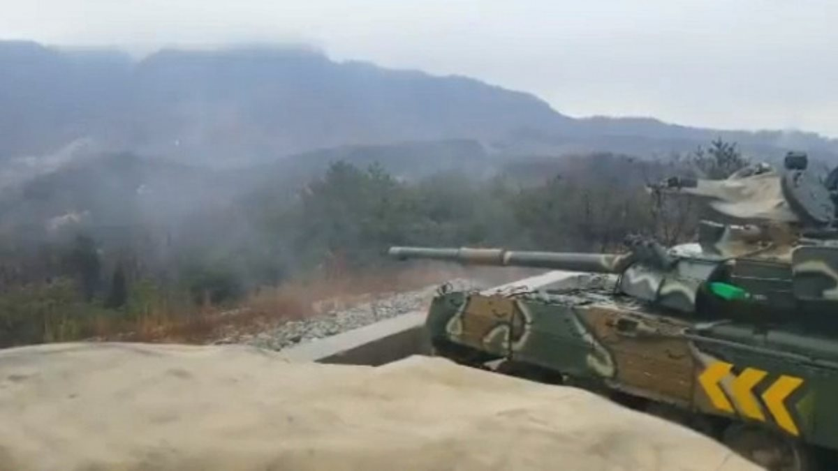 Видео испытаний российского танка Т-80 военными США выложили в сеть