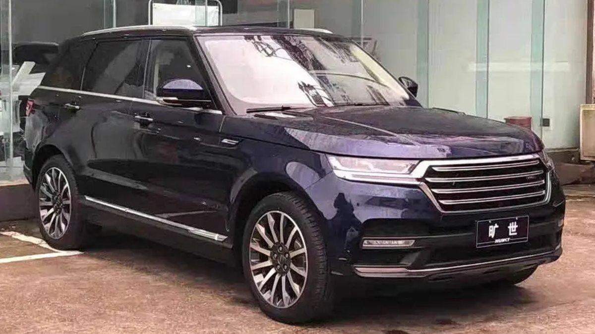 В Китае выпустили дешёвый аналог Range Rover