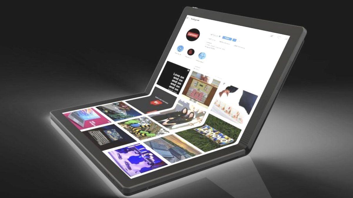 Опубликованы фотографии первого в мире ноутбука с гибким экраном