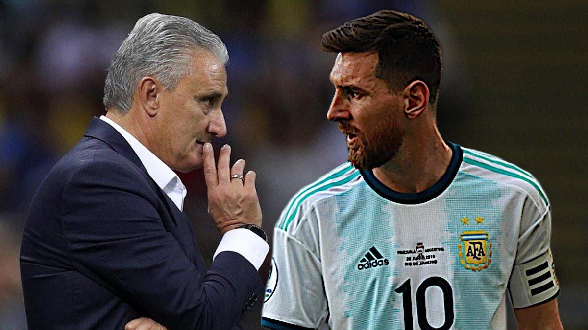 Тренер сборной Бразилии рассказал о конфликте с Месси