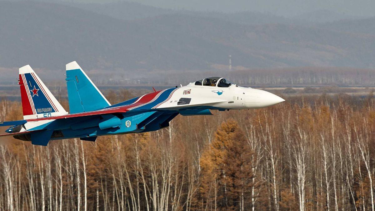 «Русские витязи» получили четыре новейших истребителя Су-35С