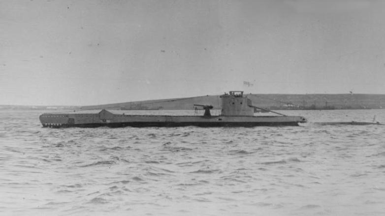 Британскую субмарину «Эрдж» удалось найти через 77лет после ее гибели