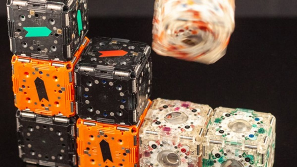 Роботов с коллективным разумом M-Block 2.0 показали на видео