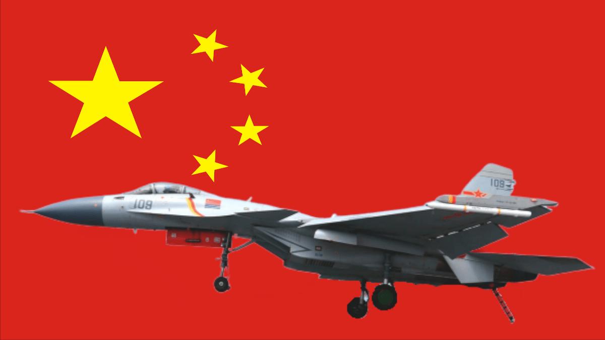 Китайский клон Су-33 превратился в морского охотника