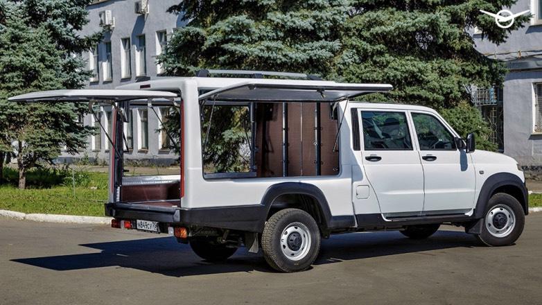 УАЗ «Профи» выйдет в новой версии с необычным кузовом