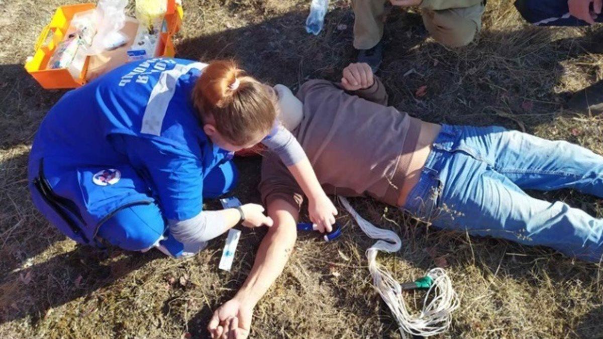 В Крыму парапланерист упал с высоты