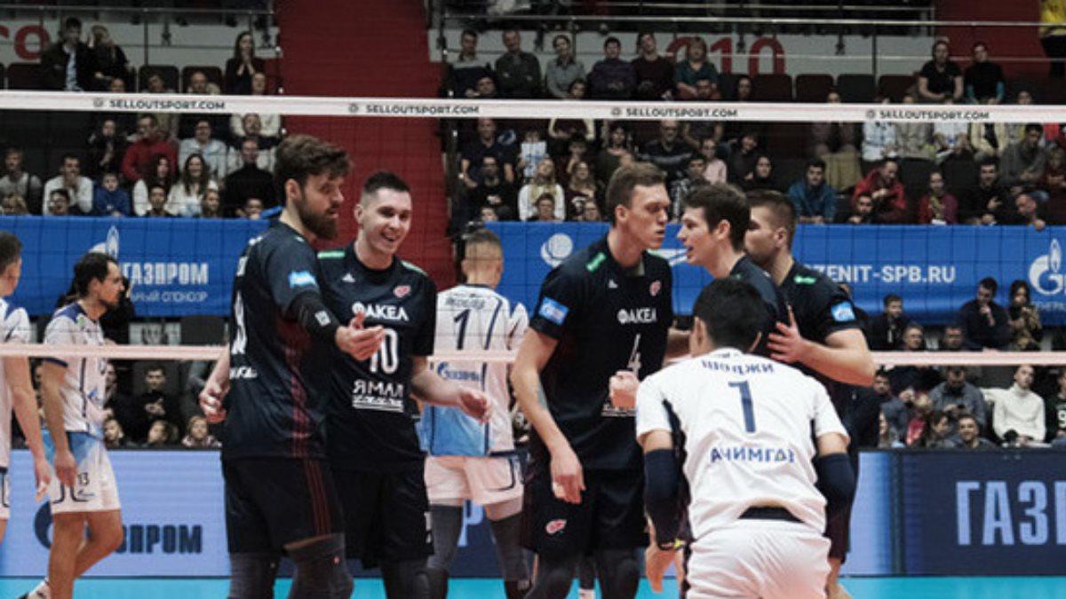 Ямальские волейболисты вышли в полуфинал Кубка России