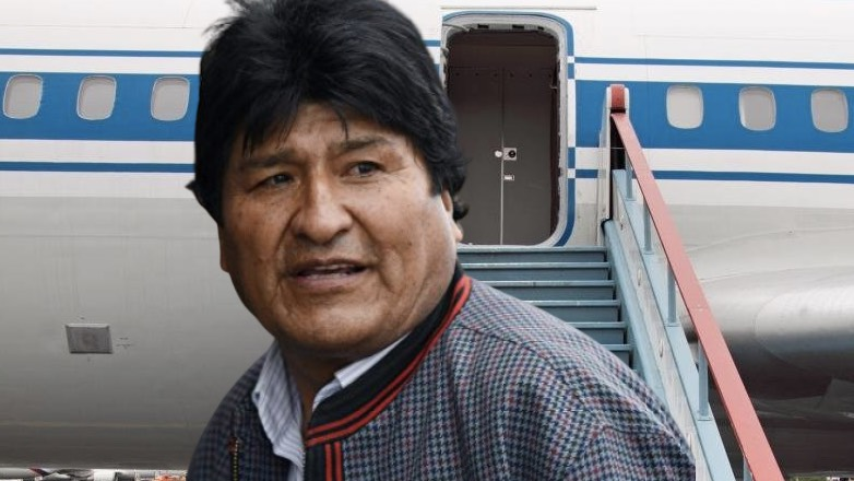 Экс-президент Боливии Эво Моралес прилетел в Мексику